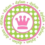 Child's Personalized Princess Crown w/Name Shirt