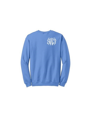Heat Press Monogram Ladies' Sweatshirt