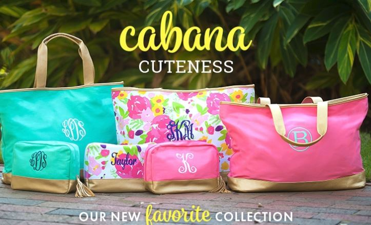 Preppy Monogrammed Gifts Apparel Bags Jewelry The
