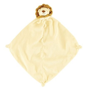 Monogrammed Baby's Lovie Blanket Lion