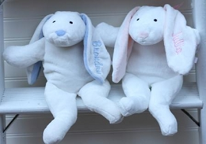 Personalized Small Plush Bunny