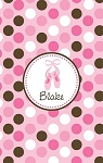 Personalized Lightweight Child's Beach Towel-Ballet Slippers