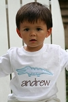 "Child's Personalized ""Alligator"" Applique Shirt"
