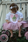 "Child's Personalized ""Mouse Ears"" Applique Shirt"