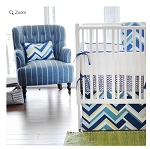 Monogrammed Clubhouse Baby Bedding