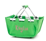 Personalized Green Market Tote