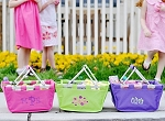 Personalized Mini Market Tote Easter Basket