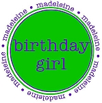 "Personalized Child's Shirt ""Birthday Girl/Boy"""