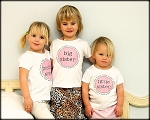 Personalized Sister Shirt (Big, Middle, Little)