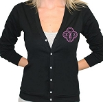 Monogrammed Ladies' Cardigan