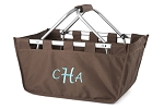 Personalized Brown Market Tote