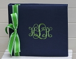Monogrammed 12x12 Scrapbook or Photo Album