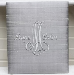 Monogrammed 10.25 x 12 Wedding Album