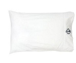 Monogrammed White Pillowcase