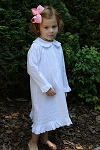 Child's Classic White Cotton Nightgown