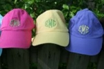 Embroidered Initials Ball Cap