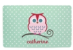 Personalized Owl Placemat