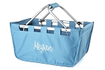 Personalized Turquoise Market Tote