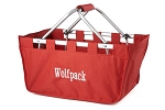 Personalized Red Market Tote