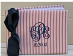 Monogrammed Guest Book