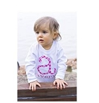 Personalized Child's Polka Dot Initial T-Shirt