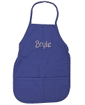Personalized Child's Purple Apron