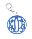 Letters Cutout Acrylic Key Ring