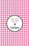 Personalized Lightweight Child's Beach Towel-Tennis Racquet