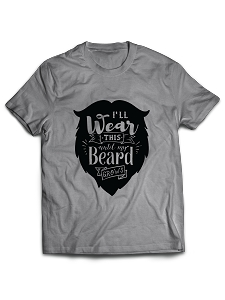 I'll Wear This Until My Beard Grows
