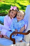 Monogrammed Children's Seersucker Pajamas