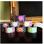 Monogrammed Flexible Cuff Bracelet-Design Your Own