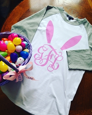 Personalized Easter Bunny Shirt