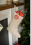 Monogrammed Juco Stocking
