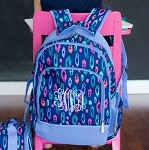 Personalized Laney Leopard Backpack