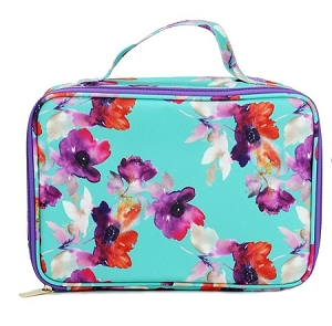 Personalized Mary Square Floral Lunchbox
