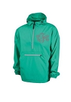 Monogrammed Ladies Mint Wind Breaker