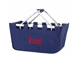 Personalized Navy Market Tote
