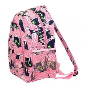 Simply Southern Pink Zebra Backpack