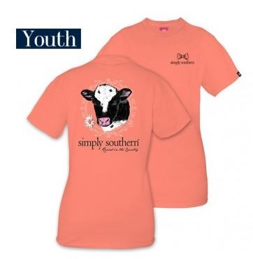 Simply Southern Raised In The Country Youth T-Shirt