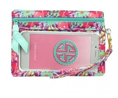 Simply Southern Costa Rica Design Phone Wristlet