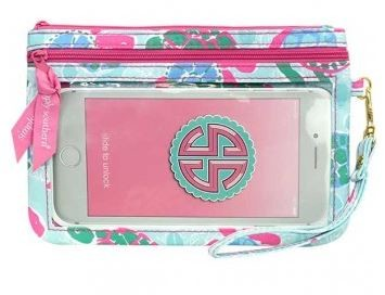 Simply Southern Friends style Phone Wristlet