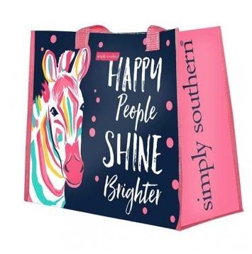 Simply Southern Happy People Tote Bag
