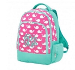 Personalized Preppy Whales Backpack