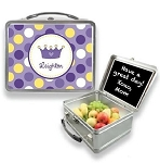 Personalized Purple Princess Tiara Lunchbox