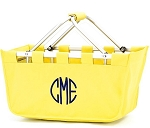 Personalized Yellow Market Tote