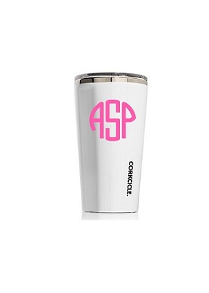 Monogrammed Corkcicle Hot/Cold Tumbler-16 oz