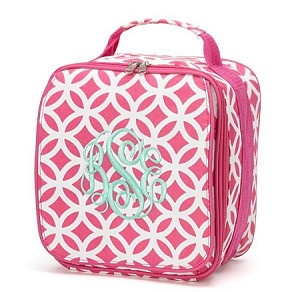 "Personalized ""Sadie"" Child's Lunchbox Pink"