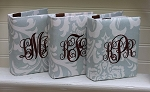 Set of 3 Monogrammed 4x6 Photo Albums