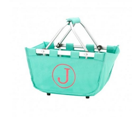 Personalized Mini Market Tote Mint