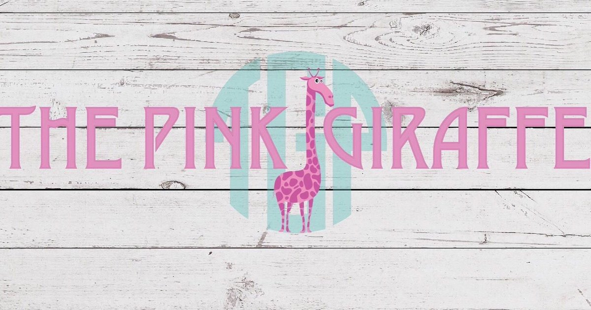 The Pink Giraffe - Preppy Apparel Embroidery